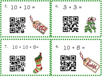 Christmas Literacy and Math Centers Bundle