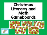 Christmas Literacy and Math Games