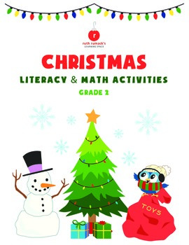 Christmas Literacy and Math - 1st Grade