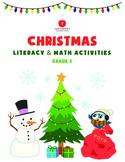 Christmas Literacy and Math - 3rd Grade