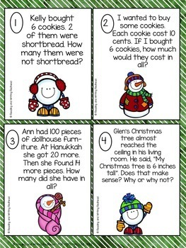Holiday Literacy and Math Pack
