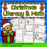 Christmas Activities : Literacy and Math Printables - Just Print & Go!