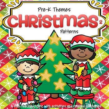 Christmas Literacy and Numbers Activities and Centers for