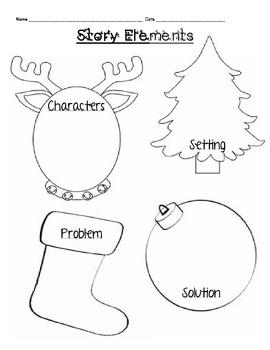 Christmas Literature Activities (Grinch, Santa, Snowmen, Reindeer)