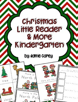 Christmas Little Reader & More--Kindergarten