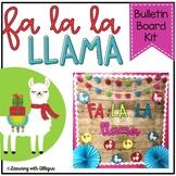 Llamas Christmas Bulletin Board / Door Decor