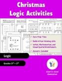 Christmas Logic Brainteaser Activities