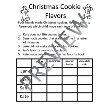 Christmas Logic Problems