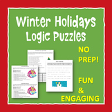 Winter Holidays Logic Puzzles and Brain Teasers for Critical Thinking