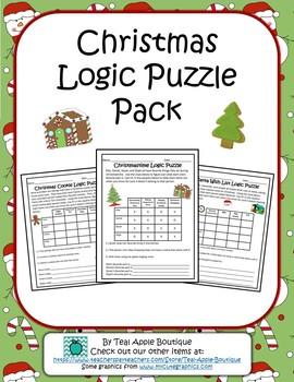 Christmas Logic Puzzle Pack