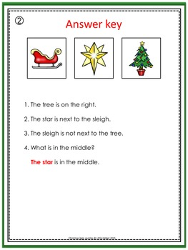 Christmas  Cut and Paste Logic Puzzles