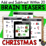 Christmas Logic Puzzles   Addition and Subtraction within 20