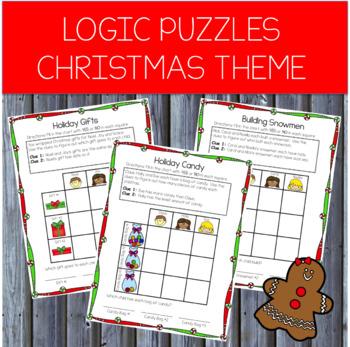 Christmas Logic Puzzles: Beginning Logic Puzzles