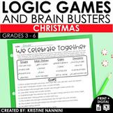 Logic Puzzles - Christmas Math - Critical Thinking