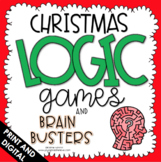 Logic Puzzles - Christmas Math - Critical Thinking - Brain Teasers