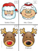 Christmas Logic Puzzles Kindergarten & 1st Grade Small ...