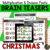 Christmas Logic Puzzles   Multiplication and Division Facts