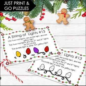 Christmas Logic With a String of Lights