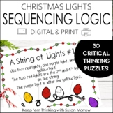 Math Logic Puzzles   Christmas Sequencing Puzzles   DIGITA