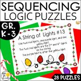 Math Logic Puzzles | Christmas Sequencing Puzzles | DIGITA