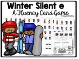 Long Vowel Silent e Fluency Games: Snowman Themed