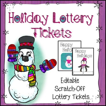 Christmas Lottery Ticket Coupons