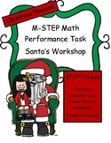 Christmas M-STEP Performance Tasks Pack of 4