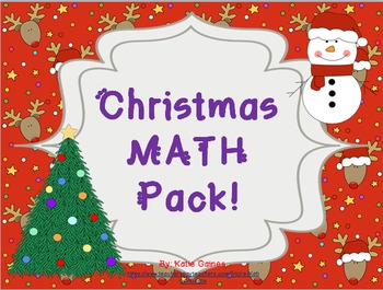 Christmas MATH pack!