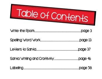 Christmas MEGABUNDLE-5 Fun Activities {70 Pages}