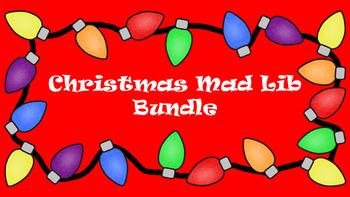 Christmas Mad Lib Bundle
