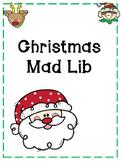 Christmas Mad Lib {Parts of Speech}