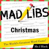 Christmas Mad Libs!!
