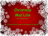 Christmas Mad Libs for Smartboard