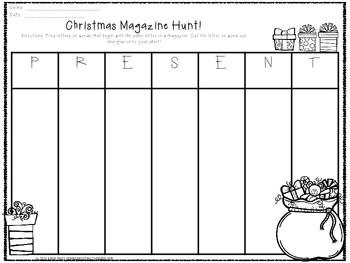 Christmas Magazine Hunt