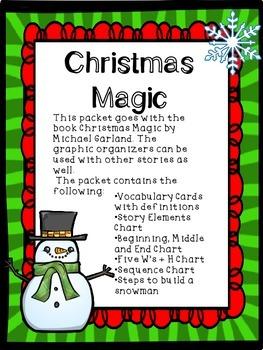 Christmas Magic- Graphic Organizer Packet