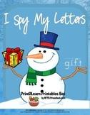 Christmas Magic I Spy Letters