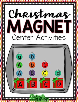 Christmas Magnet Center Activities