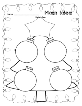 Christmas Main Idea Activity Crafts