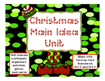 Christmas Main Idea Unit