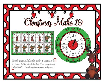 Christmas Make 10 Center