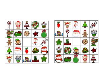Christmas Make-Your-Own BINGO Game
