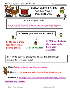 Christmas ~ Make a Claim!