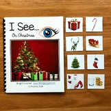"Christmas Making Inferences Adapted Book:  ""I See On Christmas"""