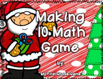 Christmas Making Ten Math Game