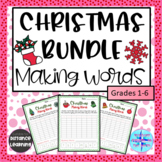 Christmas Making Words Activities