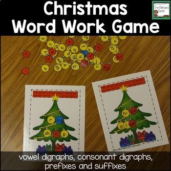 Christmas Word Work Game