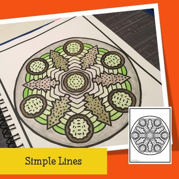 Christmas Mandalas to Color for all ages, teens and adults.