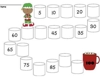 Christmas Marshmallow Math Mazes