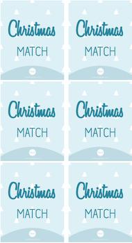 Christmas Match Game