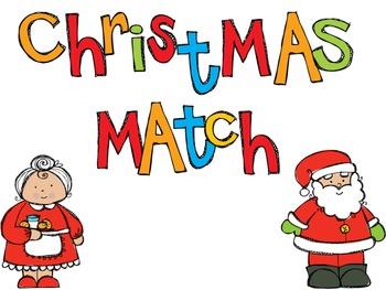 Christmas Match- SmartBoard Activity